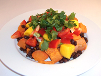 Sweet Potato Mango Bowl